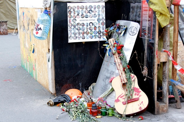 A bloody last serenade to those killed in clashes