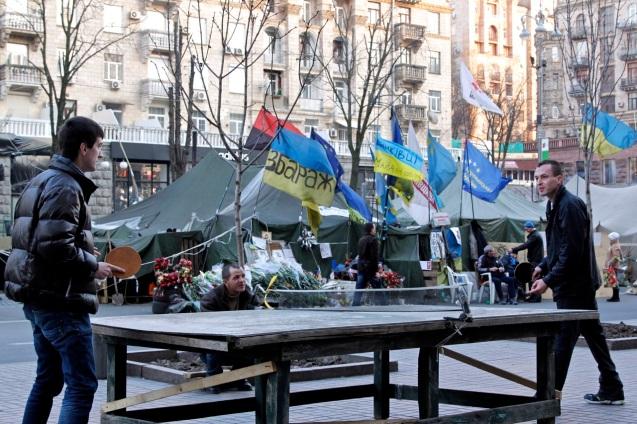 Ping Pongers of the Maidan (1)